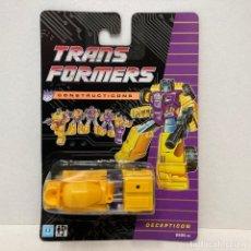 Figuras y Muñecos Transformers: HASBRO TRANSFORMERS CONSTRUCTICONS MIXMASTER. NUEVO. VINTAGE. AÑO 1.990. A ESTRENAR CON PRECINTO.. Lote 293914953