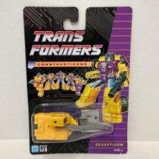 Figuras y Muñecos Transformers: HASBRO TRANSFORMERS CONSTRUCTICONS SCAVENGER. NUEVO. VINTAGE. AÑO 1.991. A ESTRENAR CON PRECINTO.. Lote 293915068