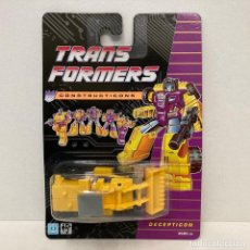Figuras y Muñecos Transformers: HASBRO TRANSFORMERS CONSTRUCTICONS SCRAPPER. NUEVO. VINTAGE. AÑO 1.991. A ESTRENAR CON PRECINTO.. Lote 293915173
