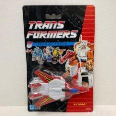 Figuras y Muñecos Transformers: HASBRO TRANSFORMERS RESCUE FORCE THE JET. NUEVO. VINTAGE. AÑO 1.991. A ESTRENAR CON PRECINTO.. Lote 293916448