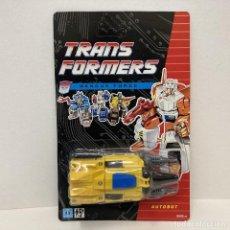 Figuras y Muñecos Transformers: HASBRO TRANSFORMERS RESCUE FORCE THE DRILL TANK EL TANQUE DE PERFORACION. NUEVO. VINTAGE. AÑO 1.991.. Lote 293917253