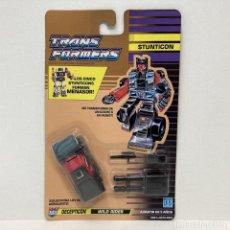 Figuras y Muñecos Transformers: HASBRO TRANSFORMERS STUNTICON WILD RIDER. NUEVO. VINTAGE. AÑO 1.991. A ESTRENAR CON PRECINTO.. Lote 293917953