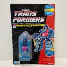 Figuras y Muñecos Transformers: HASBRO TRANSFORMERS TURBOMASTER BOSS. NUEVO. VINTAGE. AÑO 1.991. A ESTRENAR CON PRECINTO.. Lote 294133833