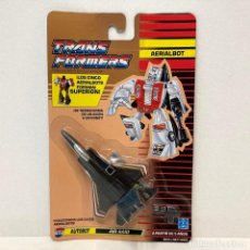 Figuras y Muñecos Transformers: HASBRO TRANSFORMERS AERIALBOT AIR RAID. NUEVO. VINTAGE. AÑO 1.991. A ESTRENAR CON PRECINTO.. Lote 294850683