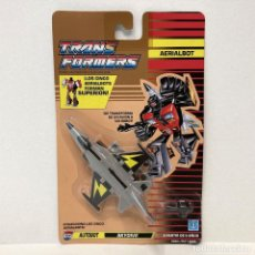 Figuras y Muñecos Transformers: HASBRO TRANSFORMERS AERIALBOT SKYDIVE. NUEVO. VINTAGE. AÑO 1.991. A ESTRENAR CON PRECINTO.. Lote 294851118