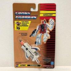 Figuras y Muñecos Transformers: HASBRO TRANSFORMERS AERIALBOT SLINGSHOT. NUEVO. VINTAGE. AÑO 1.991. A ESTRENAR CON PRECINTO.. Lote 294851263