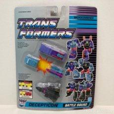 Figuras y Muñecos Transformers: HASBRO TRANSFORMERS MICROCOMBINER BATTLE SQUAD. NUEVO. VINTAGE. AÑO 1.991. A ESTRENAR CON PRECINTO.. Lote 294853753