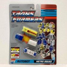 Figuras y Muñecos Transformers: HASBRO TRANSFORMERS MICROCOMBINER METRO SQUAD. NUEVO. VINTAGE. AÑO 1.991. A ESTRENAR CON PRECINTO.. Lote 294854333