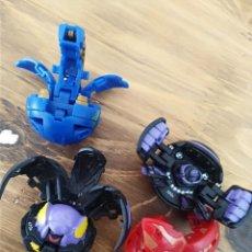 Figuras y Muñecos Transformers: LOTE 4 BAKUGAN BATTLE BRAWLERS BOLAS TRANSFORMERS. Lote 294974878