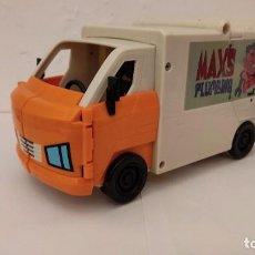 Figuras y Muñecos Transformers: BEN10 COCHE TRANSFORMER MAX PLUMBING. Lote 295354318