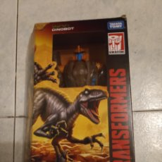 Figuras y Muñecos Transformers: DINOBOT TRANSFORMERS WAR FOR CYBERTRON KINGDOM EN CAJA. Lote 295396033