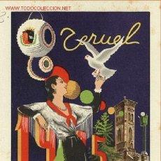 Folletos de turismo: PROGRAMA Nº 63 FIESTAS TERUEL 1945. Lote 50382929