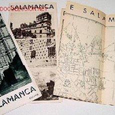 Folletos de turismo: LOTE DE 3 ANTIGUOS FOLLETOS DE TURISMO DE SALAMANCA. Lote 1037628