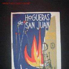 Folletos de turismo: PROGRAMA OFICIAL DE FIESTAS HOGUERAS DE SAN JUAN,JUNIO DE 1961.POR EXCMO. AYUNTAMIENTO DE ALICANTE. Lote 11261962