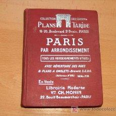 Folletos de turismo: GUIA TURISTICA DE PARIS . Lote 3322453