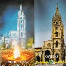 Folletos de turismo: FOLLETO TURÍSTICO: OVIEDO, PRINCIPADO DE ASTURIAS – 1985. Lote 20445979