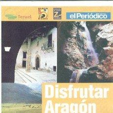 Folletos de turismo: REVISTA DE ARAGON. Lote 8786006