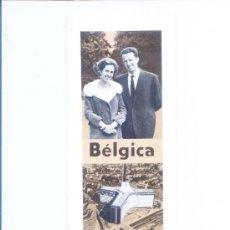 Folletos de turismo: ANTIGUA GUA TURISTICA DE BELGICA.EXTENSIBLE Y DESPEGABLE.EN ESPAÑOL. Lote 5942092