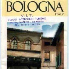 Folletos de turismo: FOLLETO DE TURISMO DE ITALIA BOLOGNA (ITALIANO). Lote 4687180