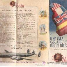 Folletos de turismo: LINEAS AEREAS IBERIA FOLLETO PROPAGANDA. Lote 5270661