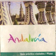 Folletos de turismo: PLANO DESPLEGABLE DE SEVILLA.. Lote 5312788