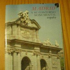 Folletos de turismo: MADRID Y SU CONTORNO MONUMENTAL (1984). Lote 27410889