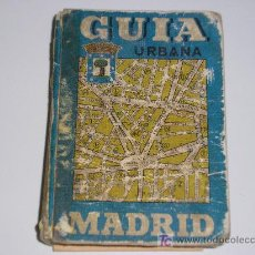 Folletos de turismo: GUIA URBANA MADRID - 1976. Lote 5827267