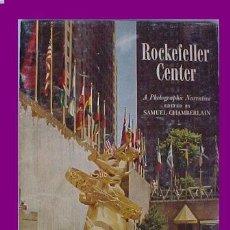 Folletos de turismo: FOLLETO TURISMO ANTIGUO NEW YORK ROCKEFELLER CENTER. Lote 27304670