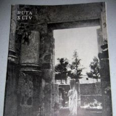 Folletos de turismo: CAMINOS DE ESPAÑA - MERIDA - RUTA XLIV - AÑO 1958 - CON FOTOGRAFIAS EN SU INTERIOR . Lote 13914623