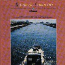 Folletos de turismo: RUTAS DE ENSUEÑO. Nº11. 1997. LA COSTA CALIDA. AGULAS, LORCA, AGULAS, MAZARRON, CARTAGENA, LA UNION. Lote 7408686