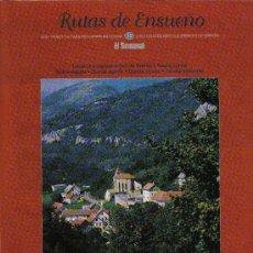 Folletos de turismo: RUTAS DE ENSUEÑO. Nº12. 1997. PAMPLONA, SANGÜESA, RONCAL, OCHAGAVÍA, ADIZ, ABAURREA, AOIZ, MONREAL. Lote 7408741