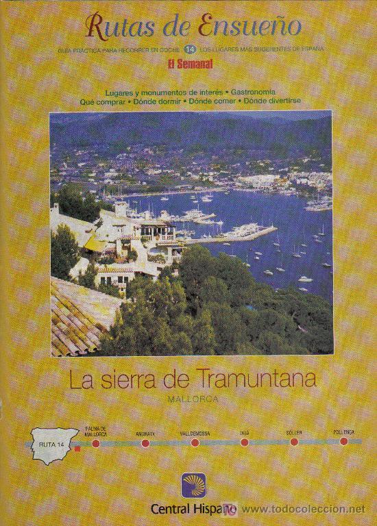 RUTAS DE ENSUEÑO. Nº14. 1997. ANDRATX, VALLDEMOSSA, DEIA, SOLLER, POLLENÇA, PALMA DE MALLORCA (Coleccionismo - Folletos de Turismo)
