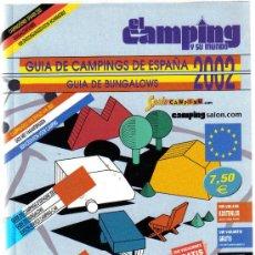 Folletos de turismo: GUIA DE CAMPINGS DE ESPAÑA. GUIA DE BUNGALOWS. 2002.. EDICIONES PELDAÑO . Lote 7411408