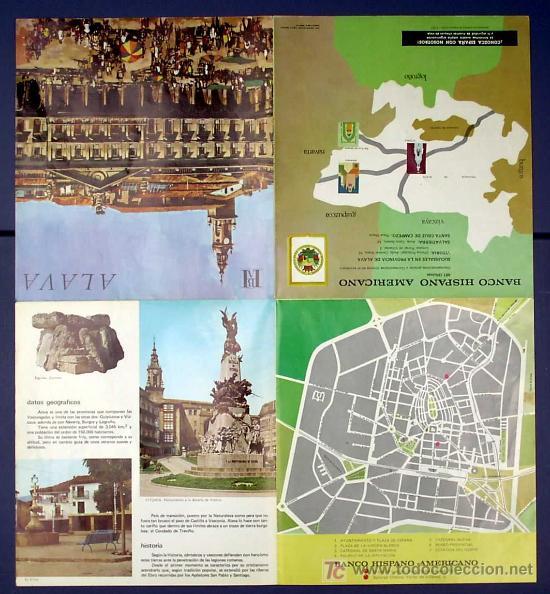 Folletos de turismo: GERONA. EDITADO POR EL BANCO HISPANO AMERICANO EN 1968/69. FISA ESCUDO DE ORO - Foto 3 - 22342911