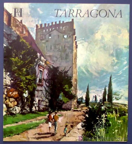 TARRAGONA. EDITADO POR EL BANCO HISPANO AMERICANO EN 1968/69. FISA ESCUDO DE ORO (Coleccionismo - Folletos de Turismo)