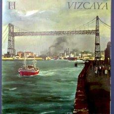 Folletos de turismo: VIZCAYA. EDITADO POR EL BANCO HISPANO AMERICANO EN 1968/69. FISA ESCUDO DE ORO. Lote 22385345
