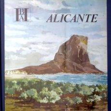 Folletos de turismo: ALICANTE. EDITADO POR EL BANCO HISPANO AMERICANO EN 1968/69. FISA ESCUDO DE ORO. Lote 22385349
