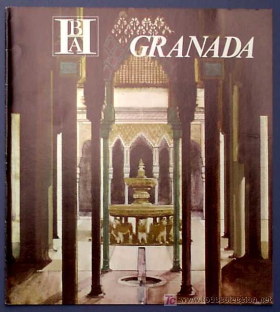 GRANADA. EDITADO POR EL BANCO HISPANO AMERICANO EN 1968/69. FISA ESCUDO DE ORO (Coleccionismo - Folletos de Turismo)