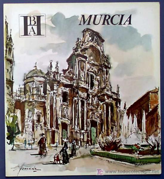 MURCIA. EDITADO POR EL BANCO HISPANO AMERICANO EN 1968/69. FISA ESCUDO DE ORO (Coleccionismo - Folletos de Turismo)