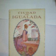 Folletos de turismo: CIUDAD DE IGUALADA 1926 PROGRAMA DE FIESTAS. Lote 25434893