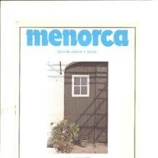 Folletos de turismo: MENORCA 1983. Lote 9144174