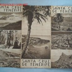 Folletos de turismo: GUIA TURISMO SANTA CRUZ DE TENERIFE. Lote 17940007