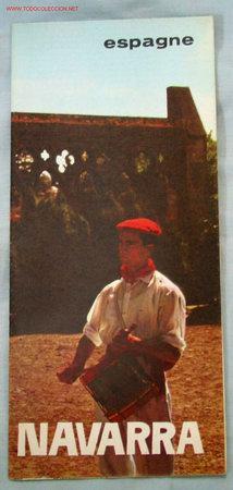 GUIA NAVARRA (Coleccionismo - Folletos de Turismo)