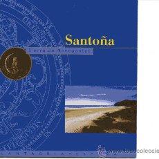 Folletos de turismo: SANTOÑA - TIERRA DE NAVEGANTES -. Lote 9863911