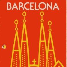 Folletos de turismo: BARCELONA - DATOS INFORMATIVOS - AÑO 1977 -. Lote 9914852