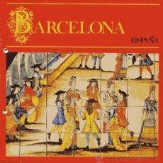 Folletos de turismo: BARCELONA - AÑO 1980 - . Lote 9915228