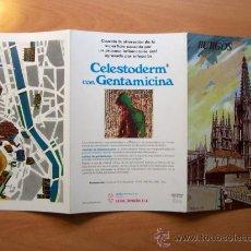 Folletos de turismo: GUÍA TURÍSTICA BURGOS. COLECCIÓN ESPAÑA MONUMENTAL. TRIPTICO. AÑOS 60-70. Lote 19188588