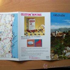 Folletos de turismo: GUÍA TURÍSTICA GRANADA. COLECCIÓN ESPAÑA MONUMENTAL. TRIPTICO. AÑO 60-70. Lote 10926907