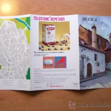 Folletos de turismo: GUÍA TURÍSTICA HUESCA. COLECCIÓN ESPAÑA MONUMENTAL. TRIPTICO. AÑO 60-70. Lote 10926906