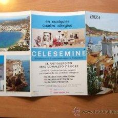 Folletos de turismo: GUÍA TURÍSTICA IBIZA. COLECCIÓN ESPAÑA MONUMENTAL. TRIPTICO. AÑO 60-70. Lote 17559932
